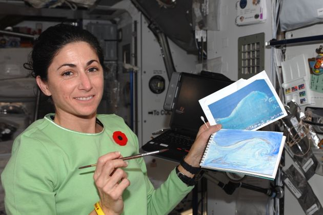 Painting In Space Gave Me Perspective On Our Reality As