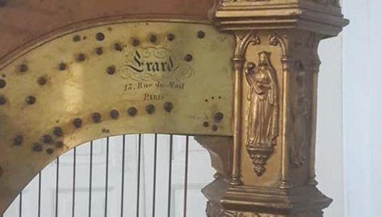 La magnifique histoire de cette harpe