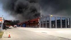 Έσβησε η φωτιά στο εργοστάσιο κατασκευής μπαταριών στο Όλβιο της