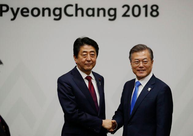 문재인 대통령이 취임 후 처음으로 일본을