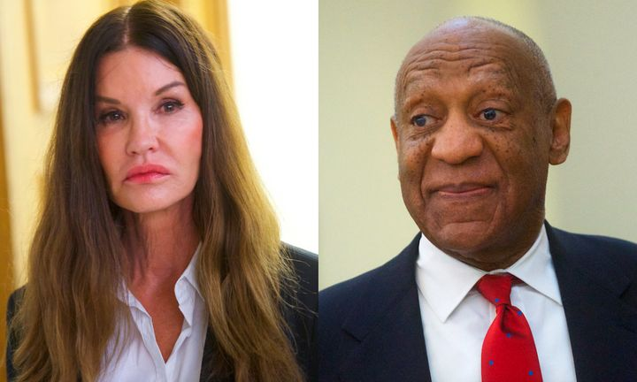 Janice Dickinson, who has accused Bill Cosby of raping her 36 years ago, testified against him in a case in which he was