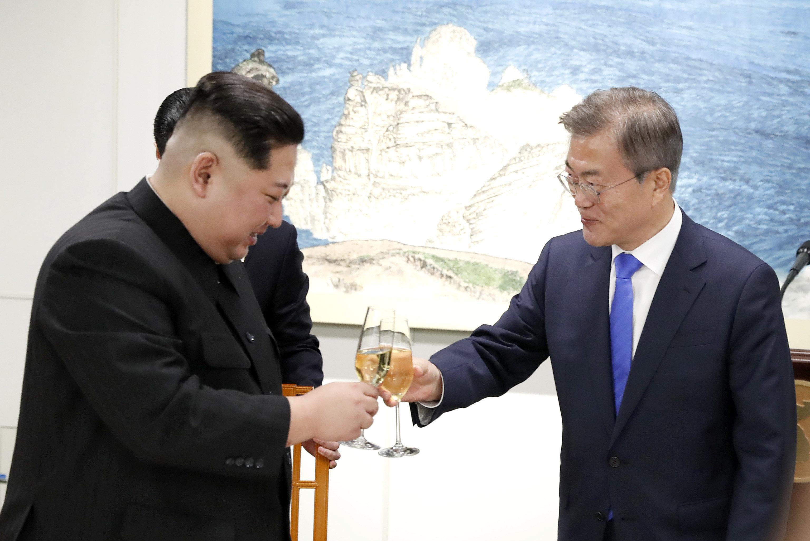China gratuliert Nordkorea zu verbesserten Beziehungen mit Südkorea