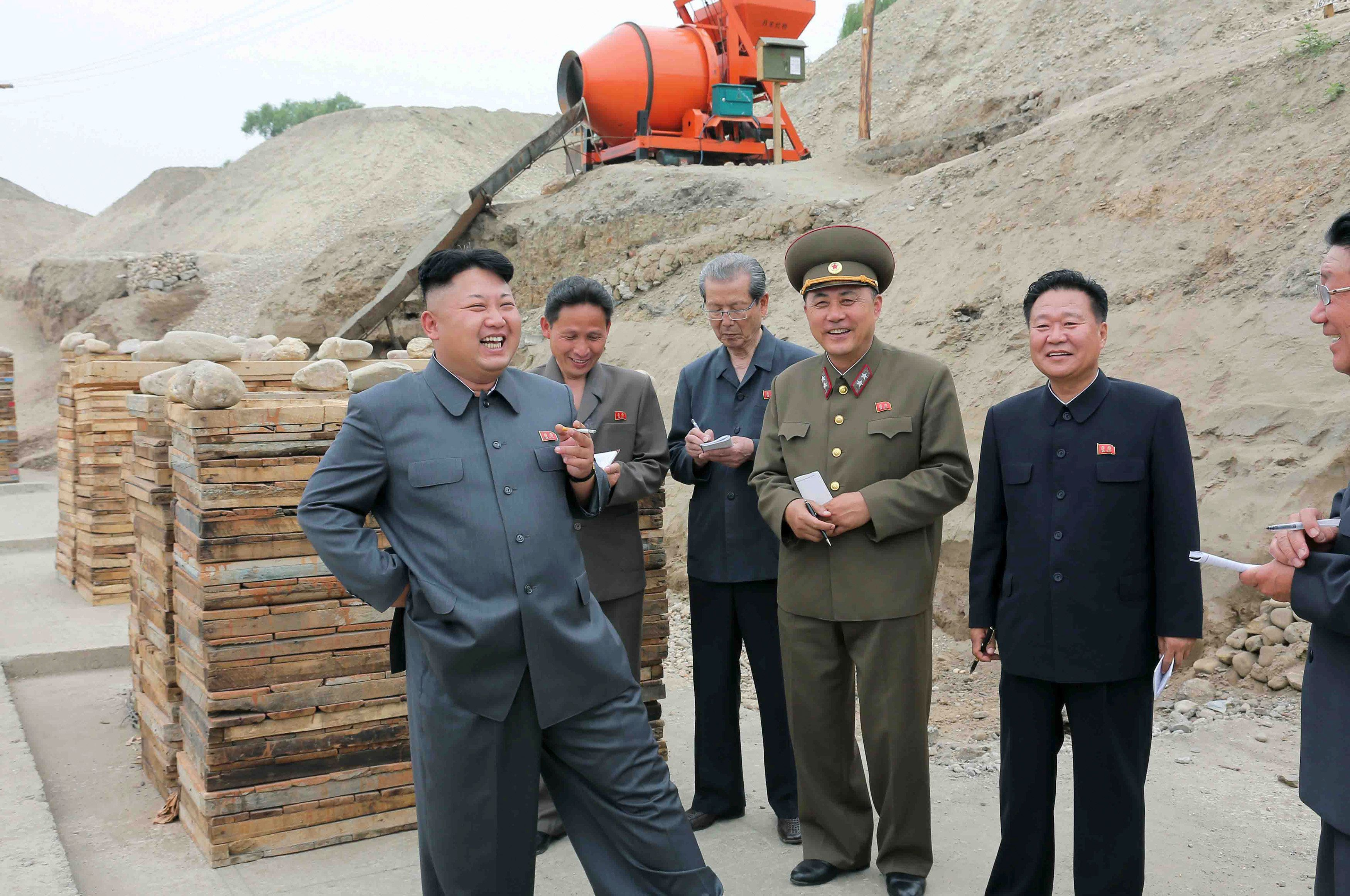 Chinas Außenminister Wang Yi in Nordkorea