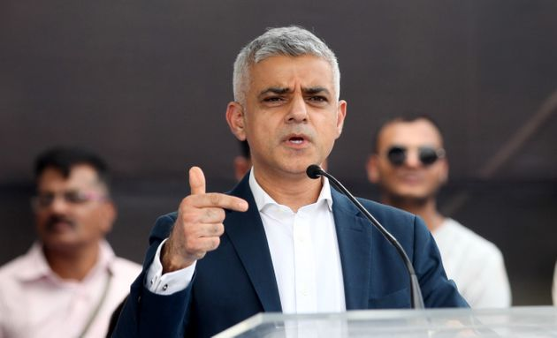 Mayor of London Sadiq Khan savaged the Government over the