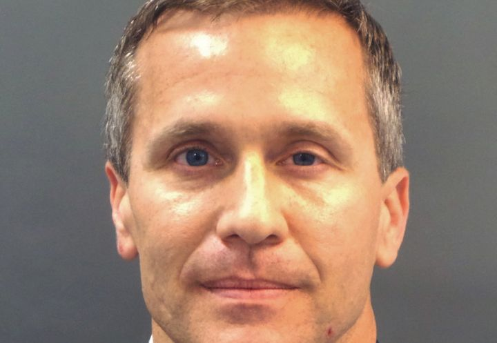 Republican Missouri Gov. Eric Greitens refuses to resign, despite being embroiled in scandal.