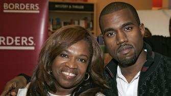 Donda West and Kanye West (Photo by Brian Ach/WireImage)