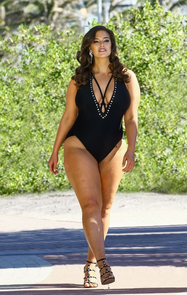 """$120. Get it <a href=""""https://www.swimsuitsforall.com/Ashley-Graham-x-Swimsuits-For-All-Flapper-Swimsuit#rrec=true"""" target=""""_"""