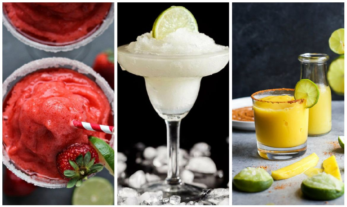 Make your own frozen margaritas next time you have a craving.
