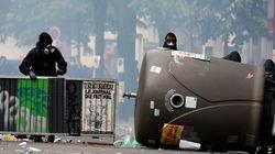 Συγκρούσεις μεταξύ της αστυνομίας και κουκουλοφόρων στο Παρίσι κατά τις διαδηλώσεις για την