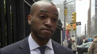 Former White House staffer Darren Martin says he was accused of burglarizing a home while moving into his own apartment