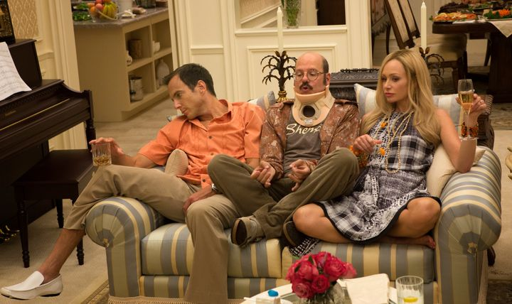 The Bluth family celebrates as only they know how.