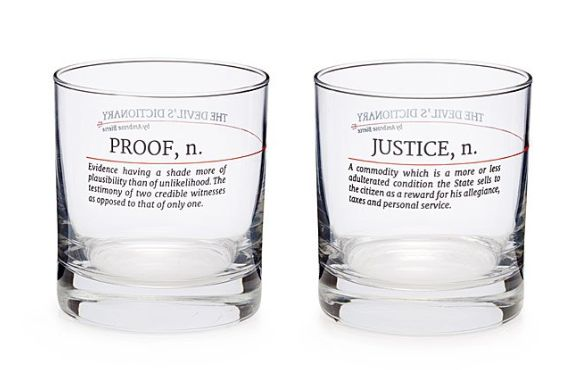 """Get it at <a href=""""https://www.uncommongoods.com/product/devils-dictionary-law-glasses-set-of-2"""" target=""""_blank"""">Uncommon Goo"""