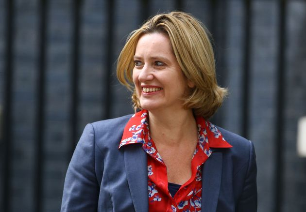 Amber Rudd resigned as home