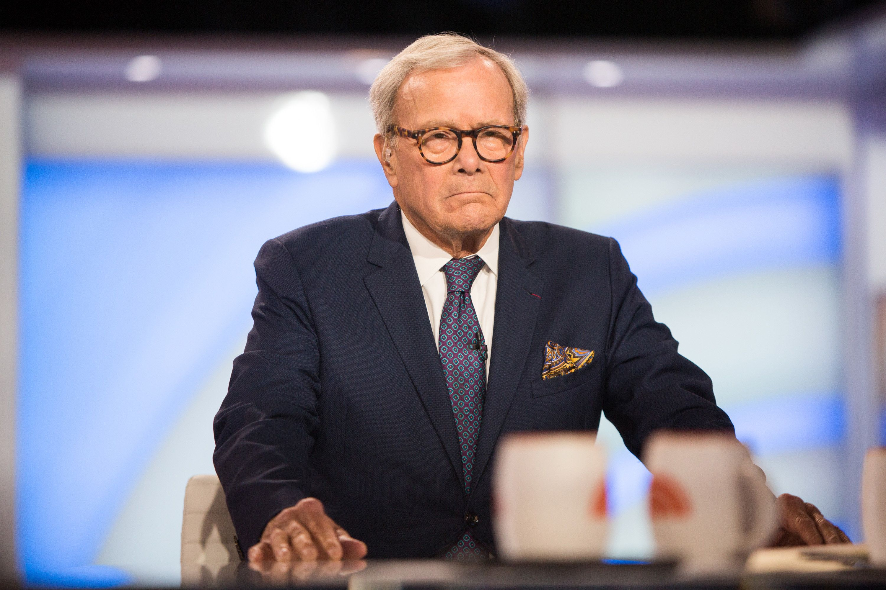 TODAY -- Pictured: Tom Brokaw on Friday, April 6, 2018 -- (Photo by: Nathan Congleton/NBC/NBCU Photo Bank via Getty Images)