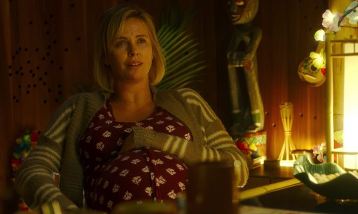 "Charlize Theron in ""Tully."""