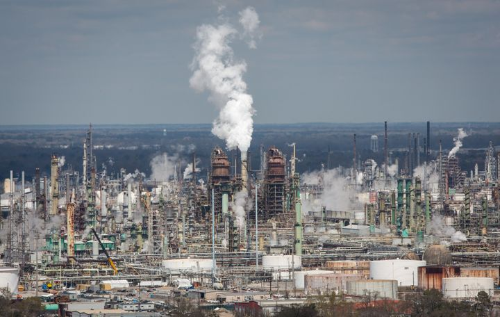 A Louisiana refinery owned by Exxon Mobil, the country's largest oil and gas company.
