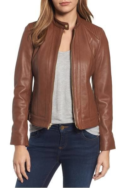 "Get it <a href=""https://shop.nordstrom.com/s/cole-haan-leather-moto-jacket-regular-petite/4910108?origin=category-personalize"