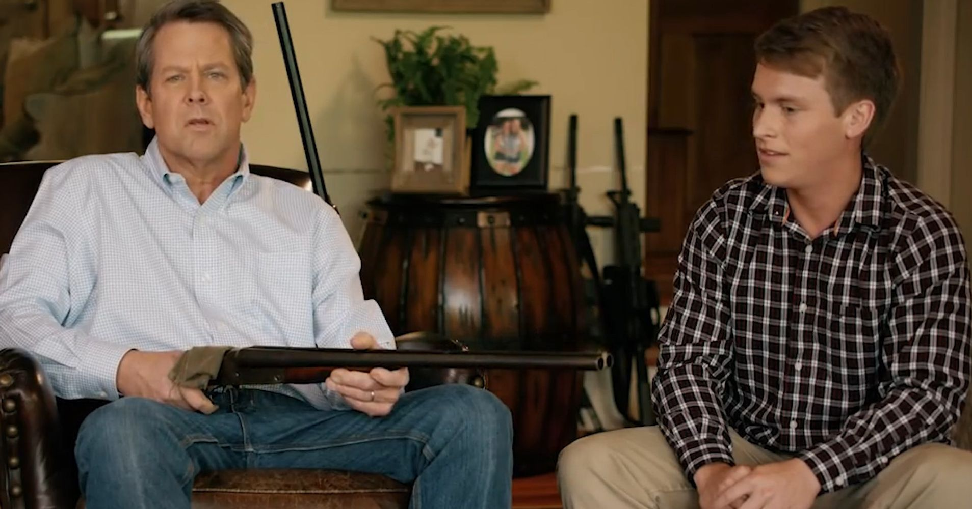 Gun Toting Georgia Politician Points Shotgun At Teen In Unbelievable Campaign Ad Huffpost