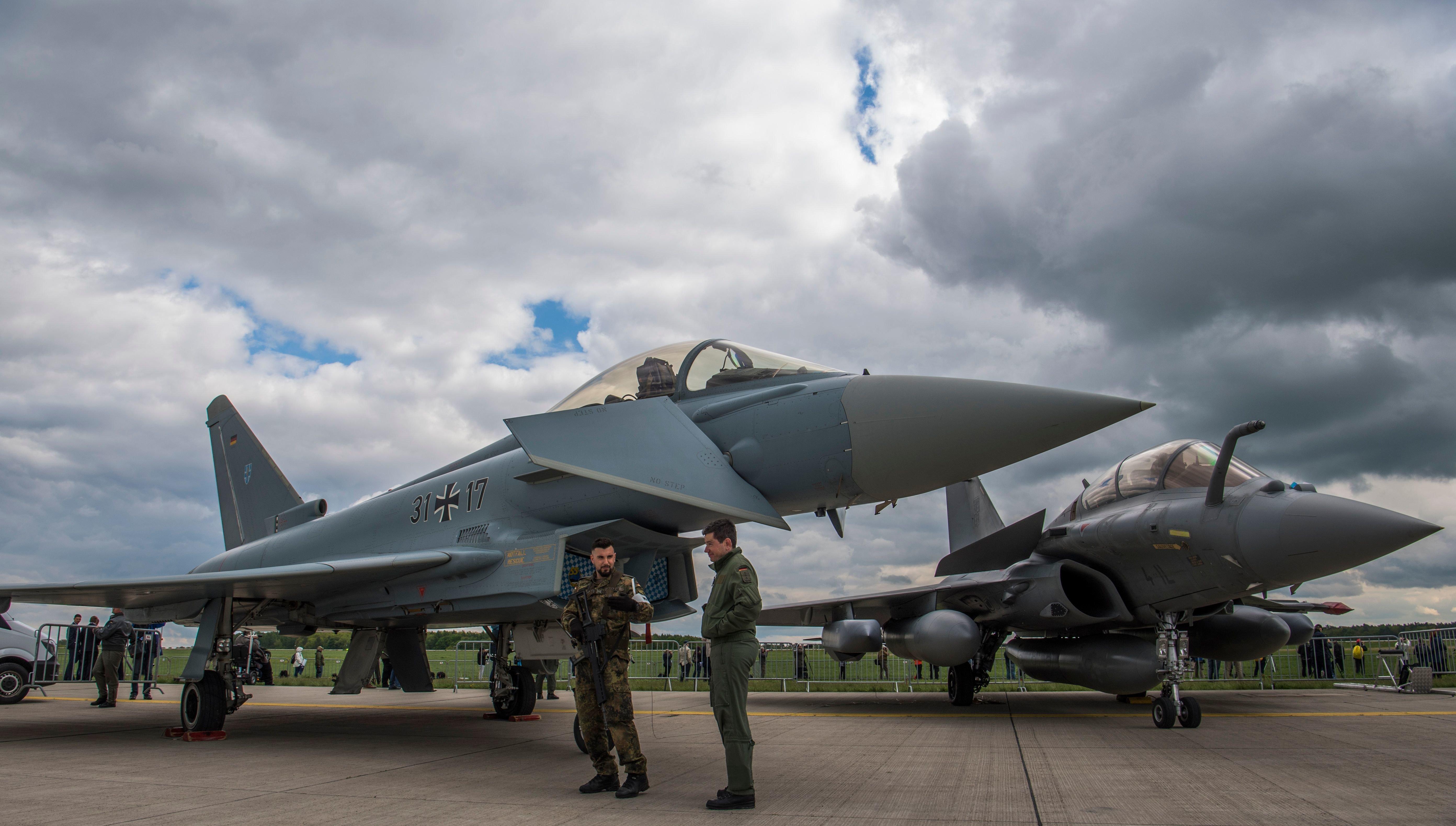 Bericht: Nur vier Eurofighter der Bundeswehr einsatzfähig
