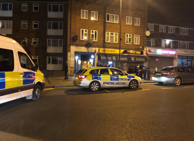 Police were called to Cumberland Road on Tuesday night following shooting outside Queensway Tube