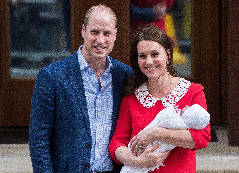 Royals: Geburtsurkunde von Prinz Louis verrät Berufe von Herzogin Kate und Prinz William