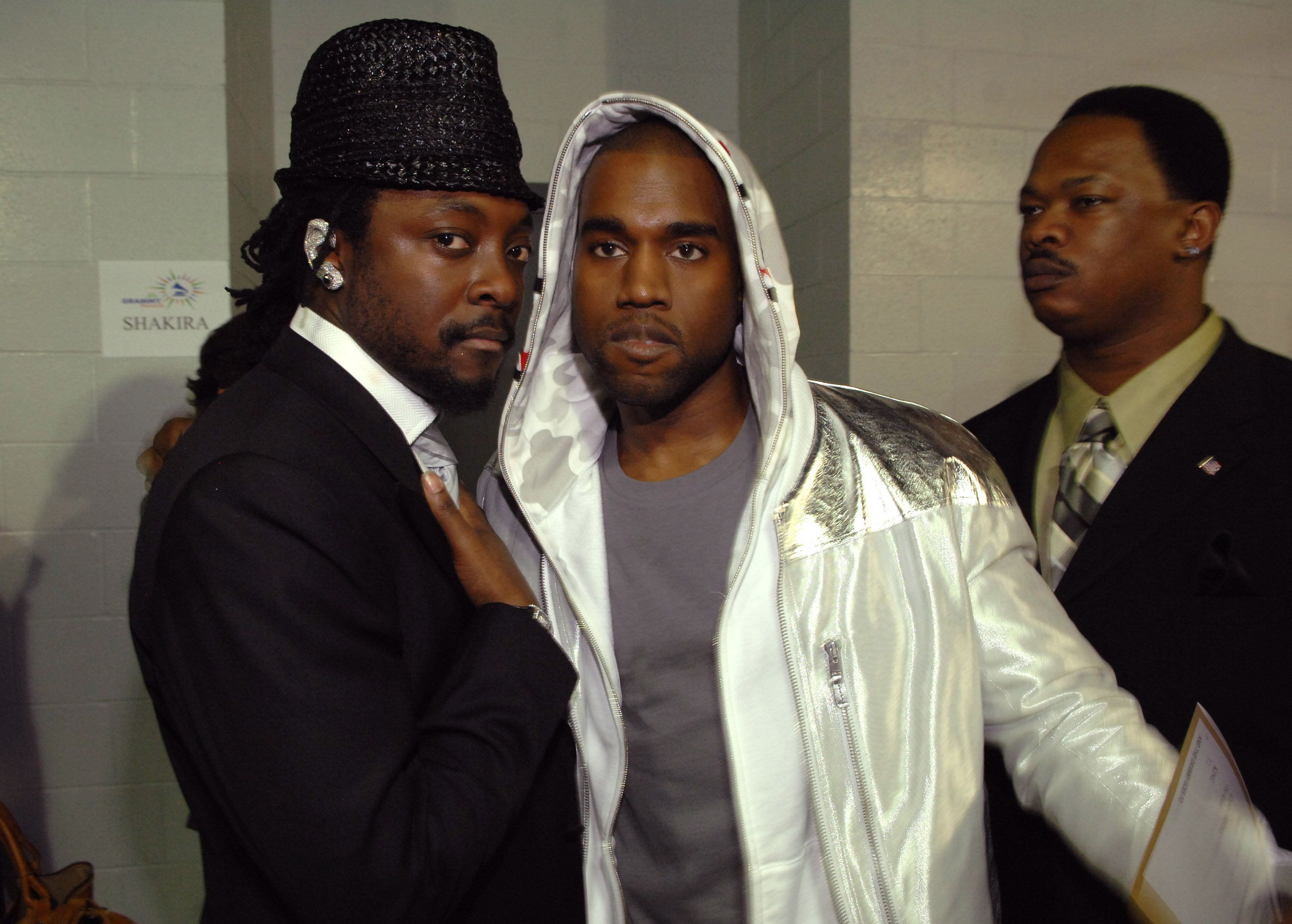 will.i.am and Kanye