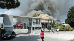 Ξάνθη: Δεν υπάρχει ατμοσφαιρική ρύπανση από την πυρκαγιά του