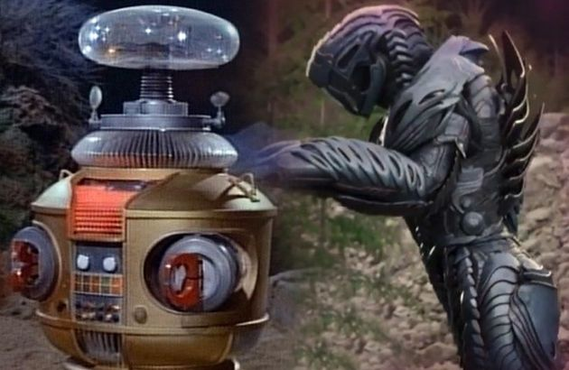 The 'Lost In Space' robot has come a long