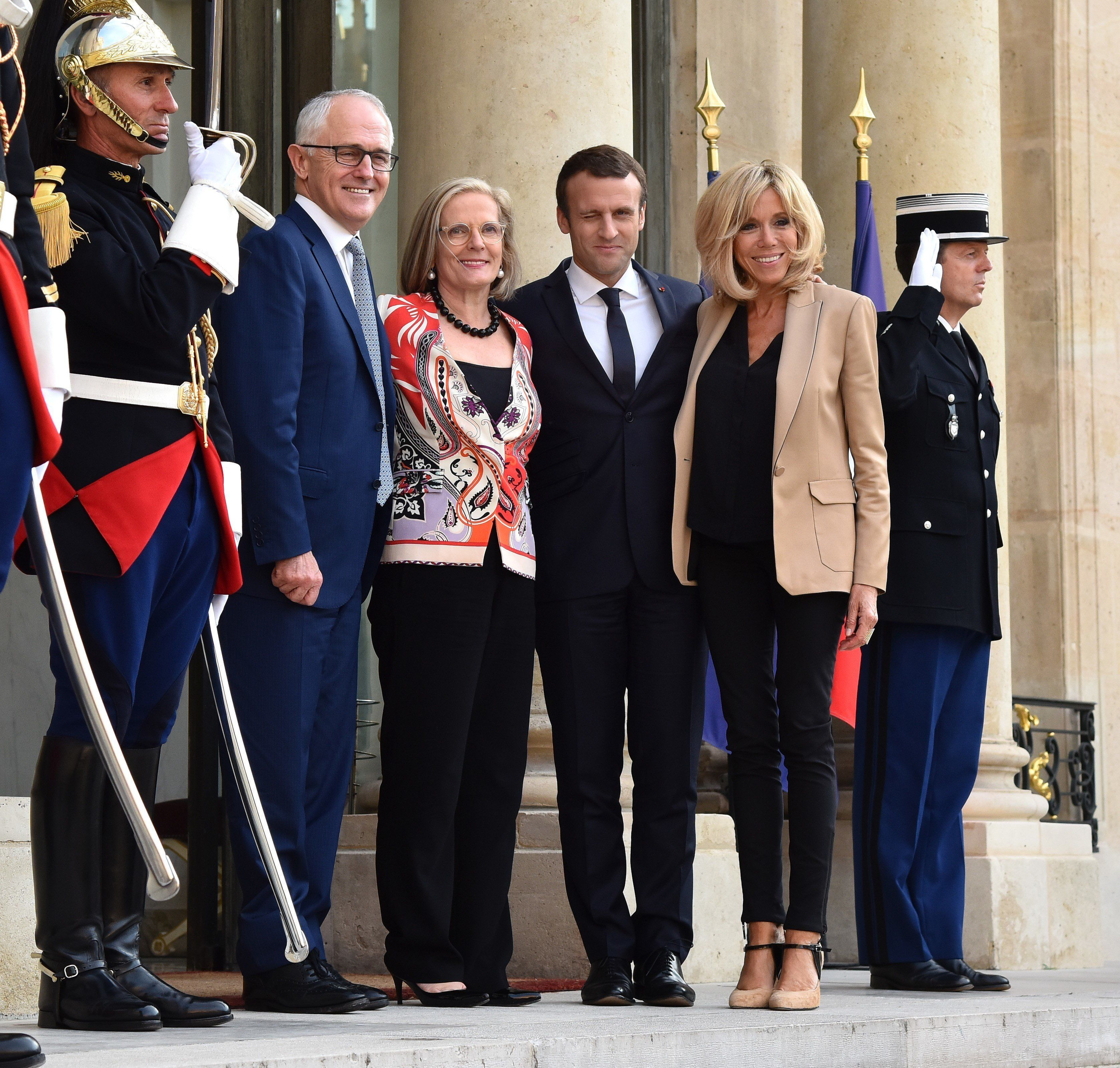 Macron wirbt für Waffen und Handel in Australien