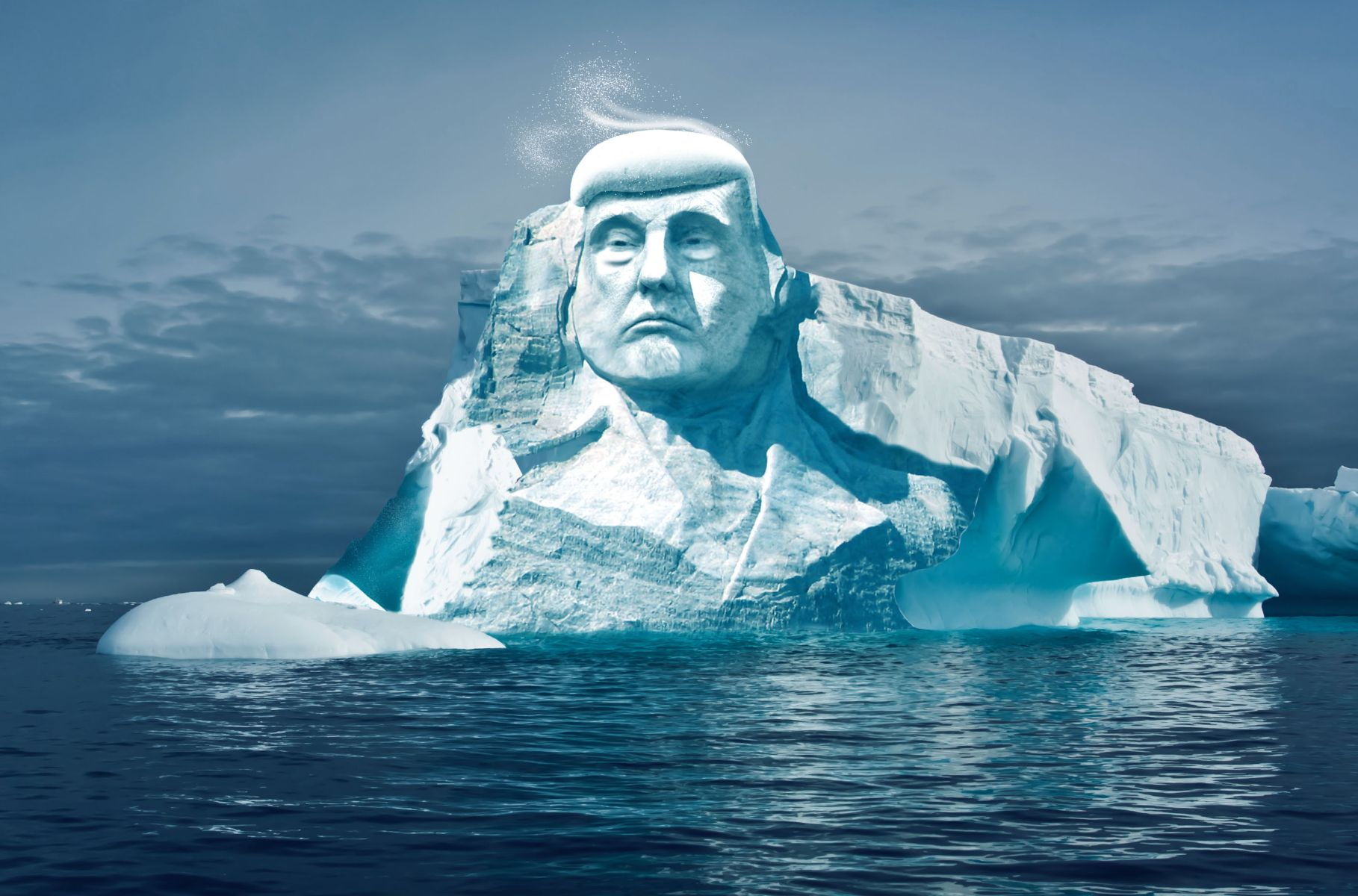 Climate Change Activists Plan To Carve Trump's Face Into An Iceberg And Watch It