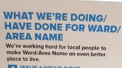 Mail Merge Fail: Election Leaflet Sets Out Tory Achievements In 'AREA