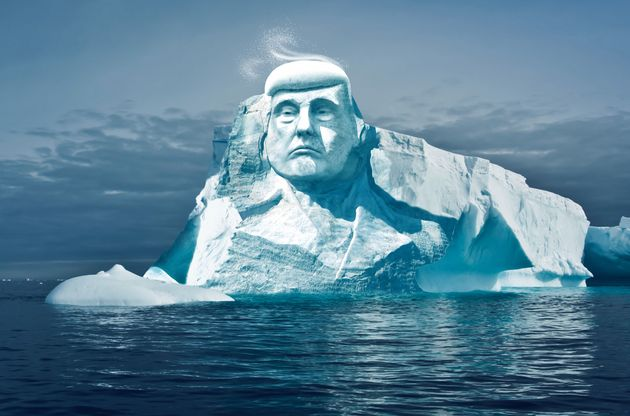 Activistswant to carve Trump's face into an iceberg and watch it melt, dubbing it 'Project