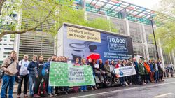 Doctors Mock Up Theresa May's 'Go Home' Vans To Protest Home Office Use Of NHS