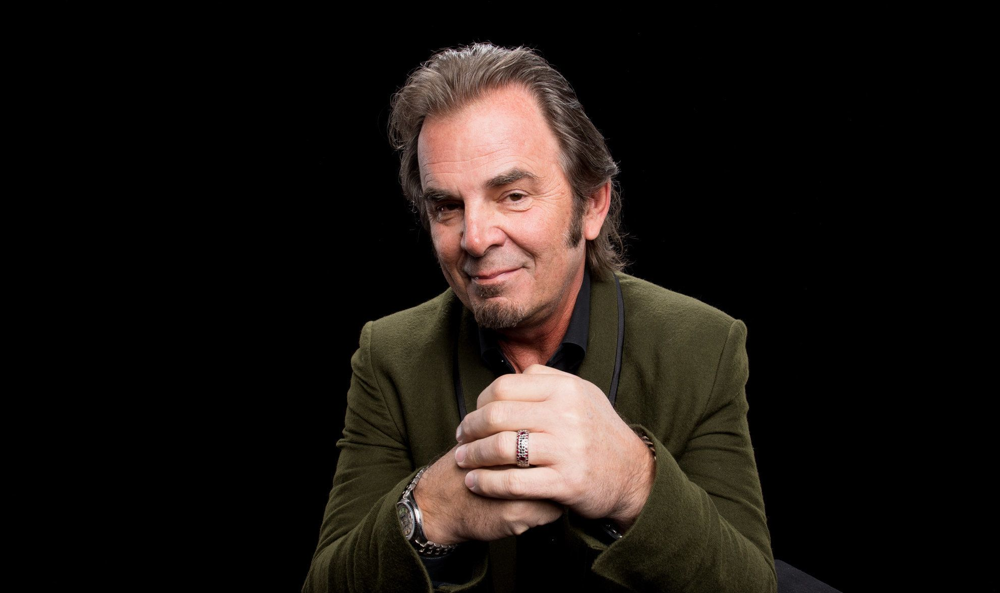 Jonathan Cain visits Build Studio on April 30th 2018. Photo by Mike Pont.