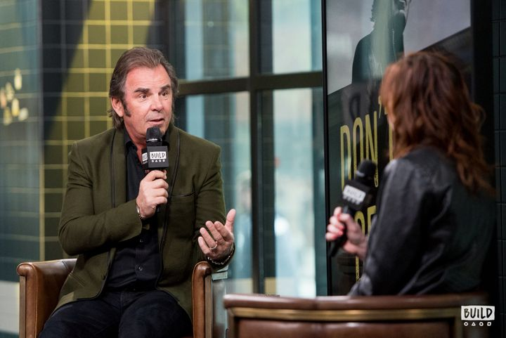 Jonathan Cain speaking at Build Studio in New York City on April 30.