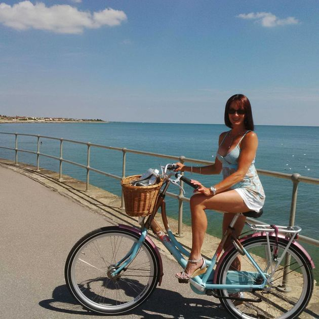 Jacqueline (pictured) has been cycling since she was a little girl and firmly believes the benefits...