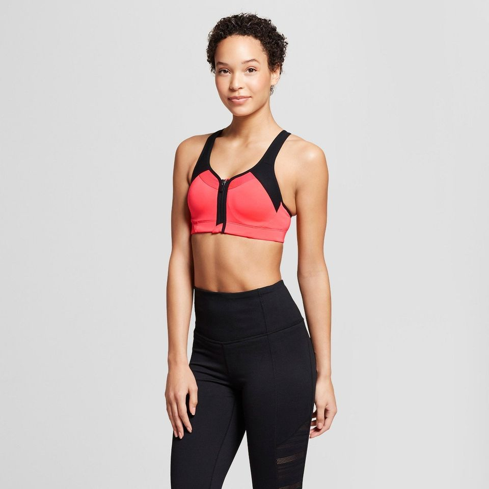 5175652c7 Power Shape MAX Support Front-Close Sports Bra from Target