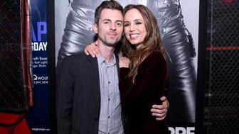 NEW YORK, NY - APRIL 22:  Nathaniel and Eliza Dushku attend the 'Mapplethorpe' After Party at The Eagle on April 22, 2018 in New York City.  (Photo by Santiago Felipe/Getty Images)