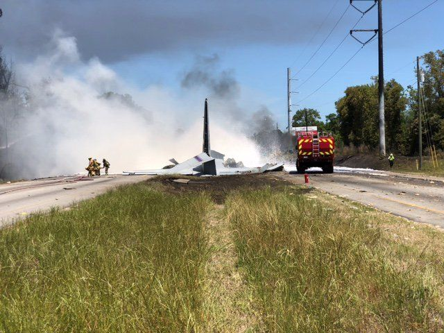 A C-130 coming from Puerto Rico has crashed in Georgia.