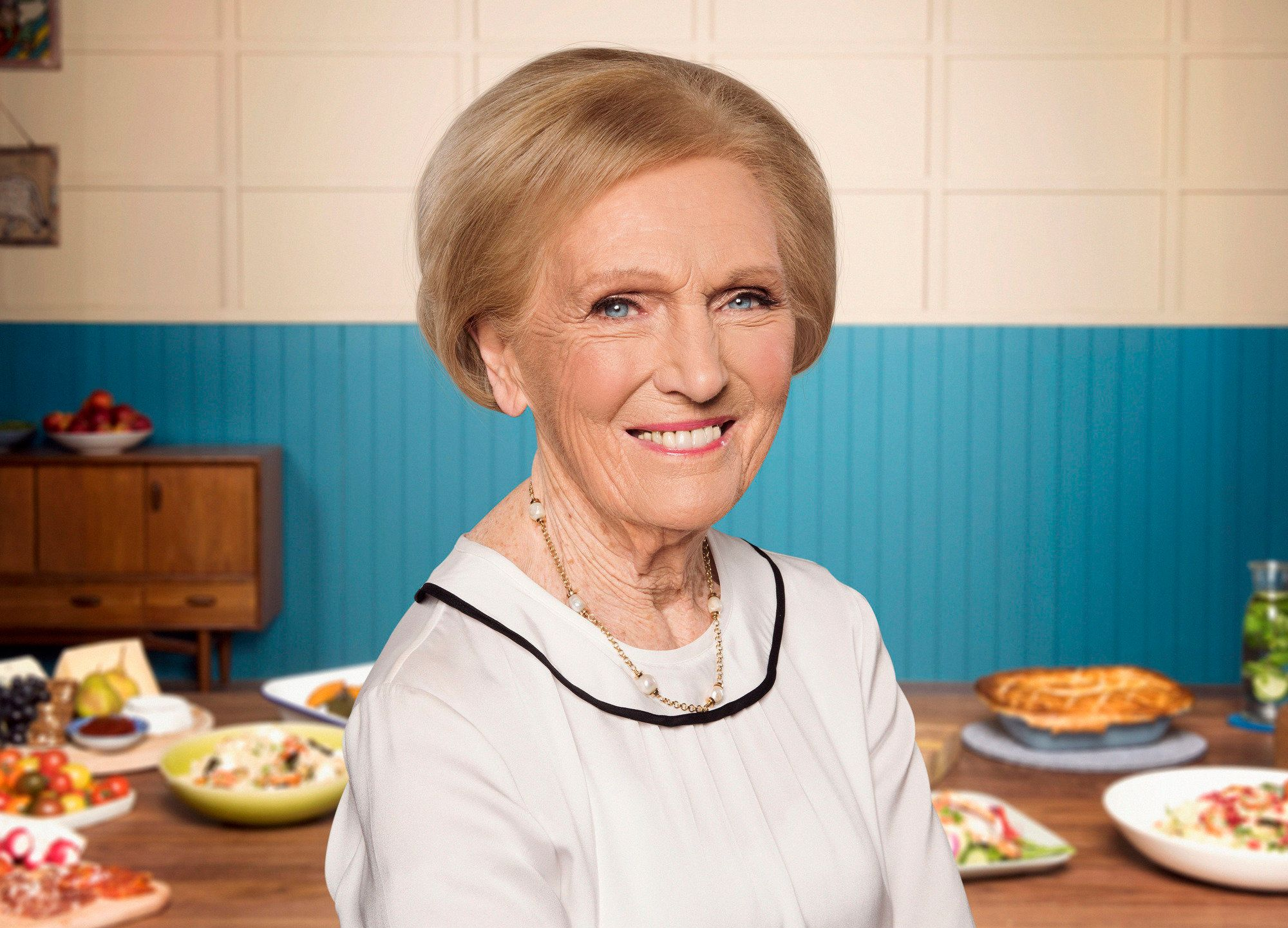 Mary Berry Admits Nerves About New Show 'Britain's Best Home Cook'