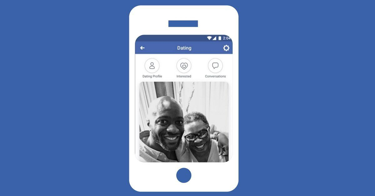 Ademo Facebook sent to the press about its forthcoming dating site, Facebook Dating.
