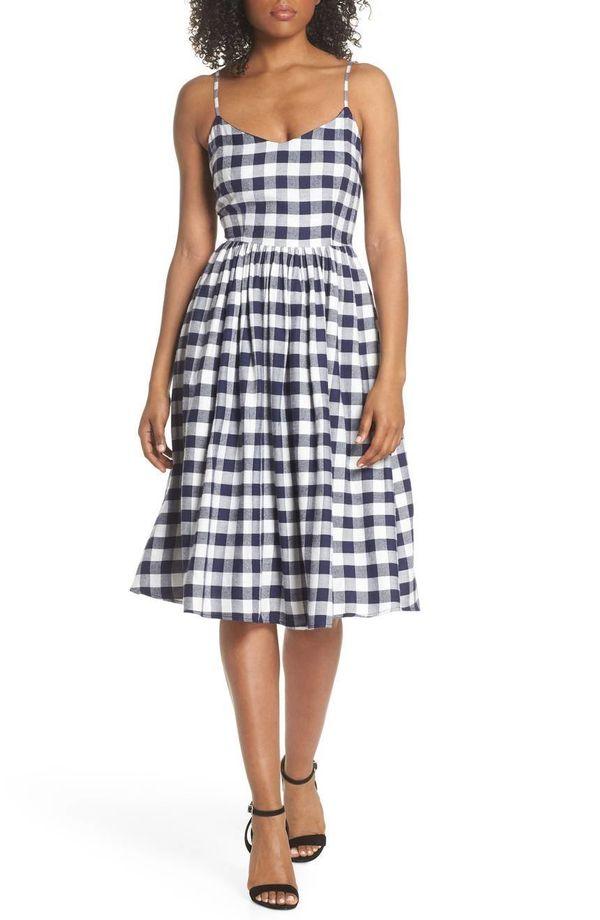 "Get it <a href=""https://shop.nordstrom.com/s/bb-dakota-matie-gingham-midi-dress/4924967?origin=category-personalizedsort&"