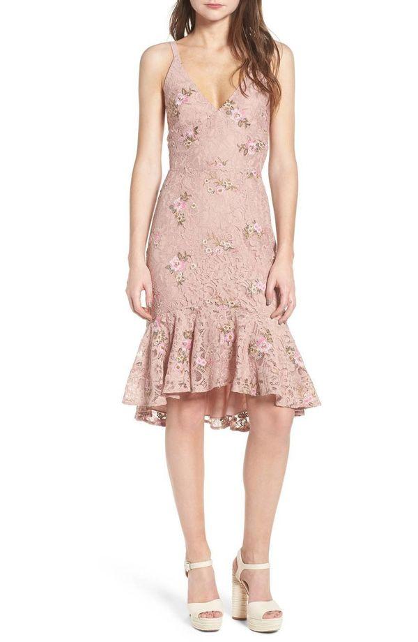"Get it <a href=""https://shop.nordstrom.com/s/wayf-ferrara-flare-hem-lace-dress/4880211?origin=category-personalizedsort&f"