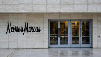 Las Vegas, Nevada, USA - May 24, 2014: The Neiman Marcus location on Las Vegas Boulevard in downtown Las Vegas, Nevada. Neiman Marcus is a chain of luxury department stores with locations across the US.
