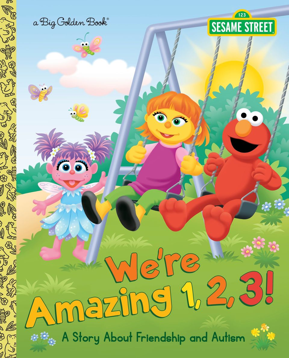 "This Sesame Street storybook focuses on a recent character addition -- Elmo's friend <a href=""https://www.huffpost.com/entry/"