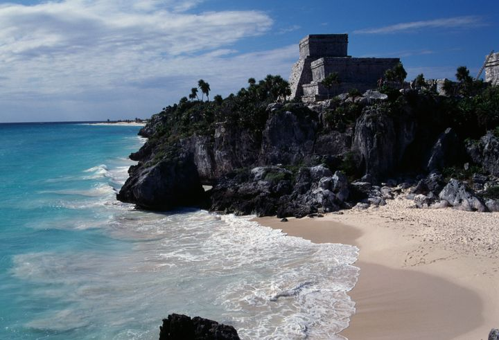Markle adores Mexico, and Tulum (above) is just one of the many places she and Harry might end up.