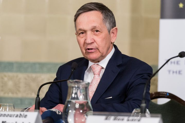 Dennis Kucinich is running to become Ohio's next governor.