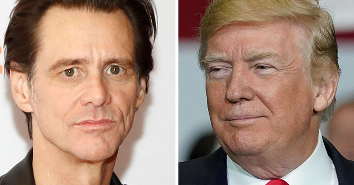 You Can T Unsee Jim Carrey S Naked Trump Urine Sample Artwork Huffpost Canada