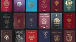 세계 각국, 각양각색 여권을 모았다(사진,