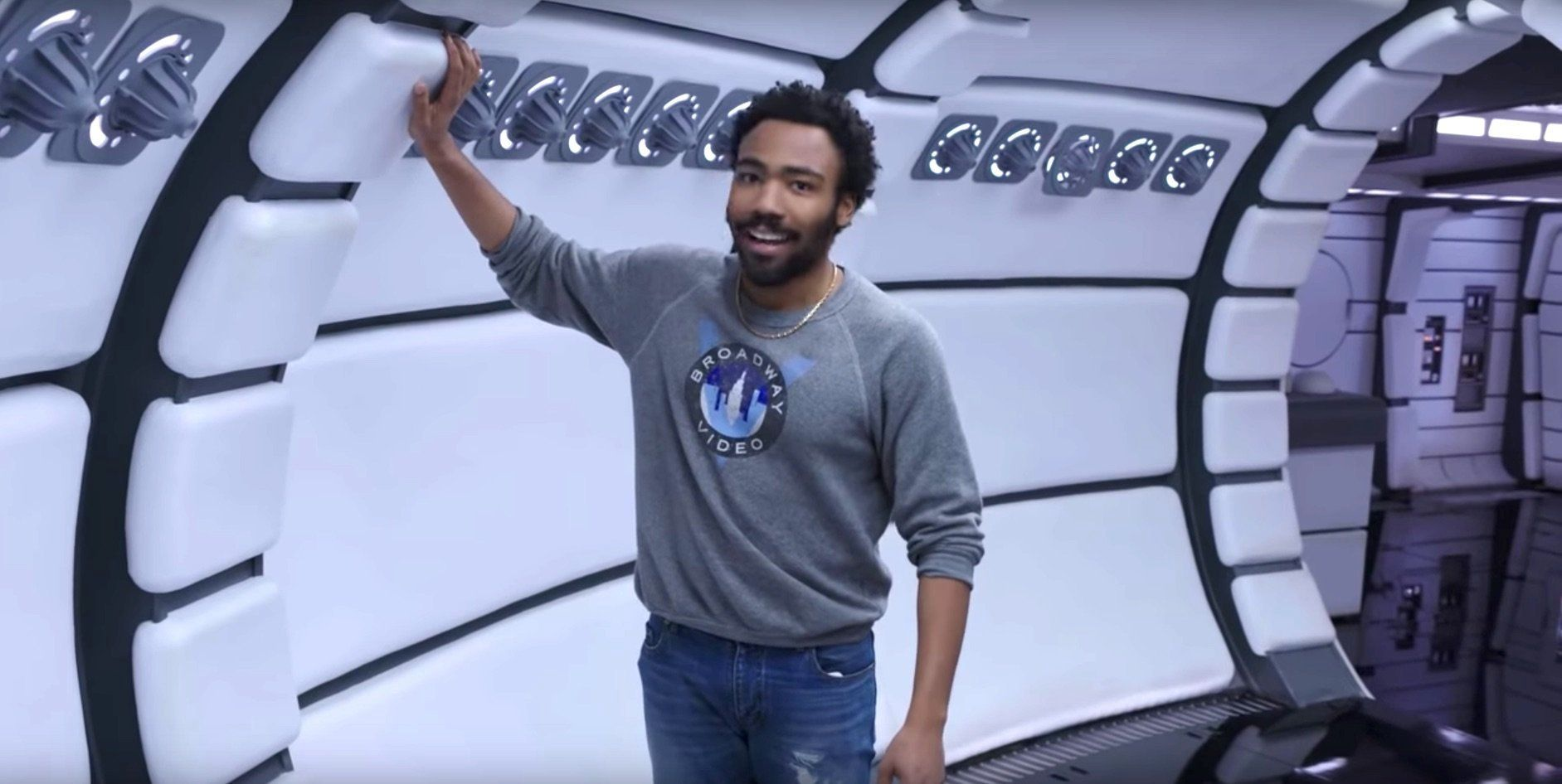 Lando Calrissian's Millennium Falcon Is So Swank It Has A Room Just For